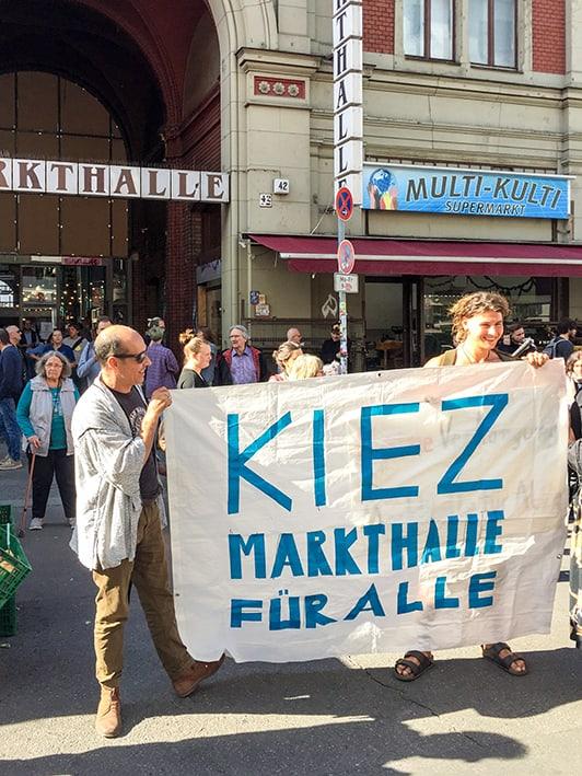 """""""Kiez-Markthalle für Alle"""""""